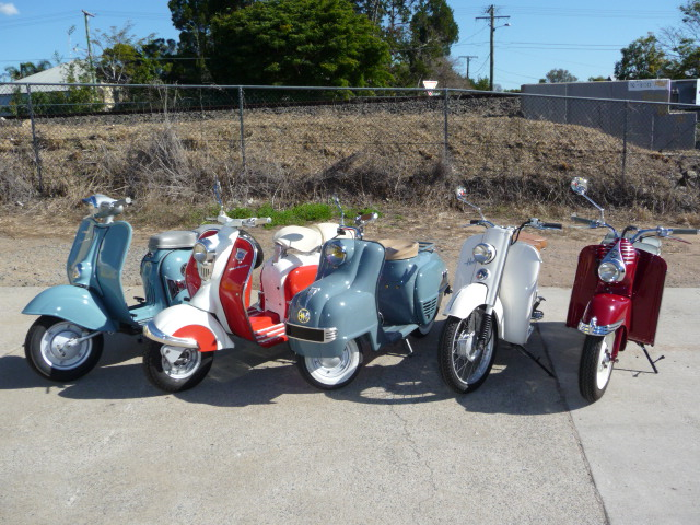 Vintage Scooters For Sale